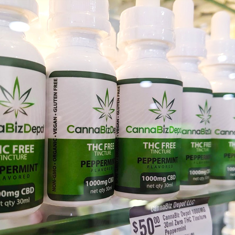 CannaBizDepot-CBD THC Free Tincture