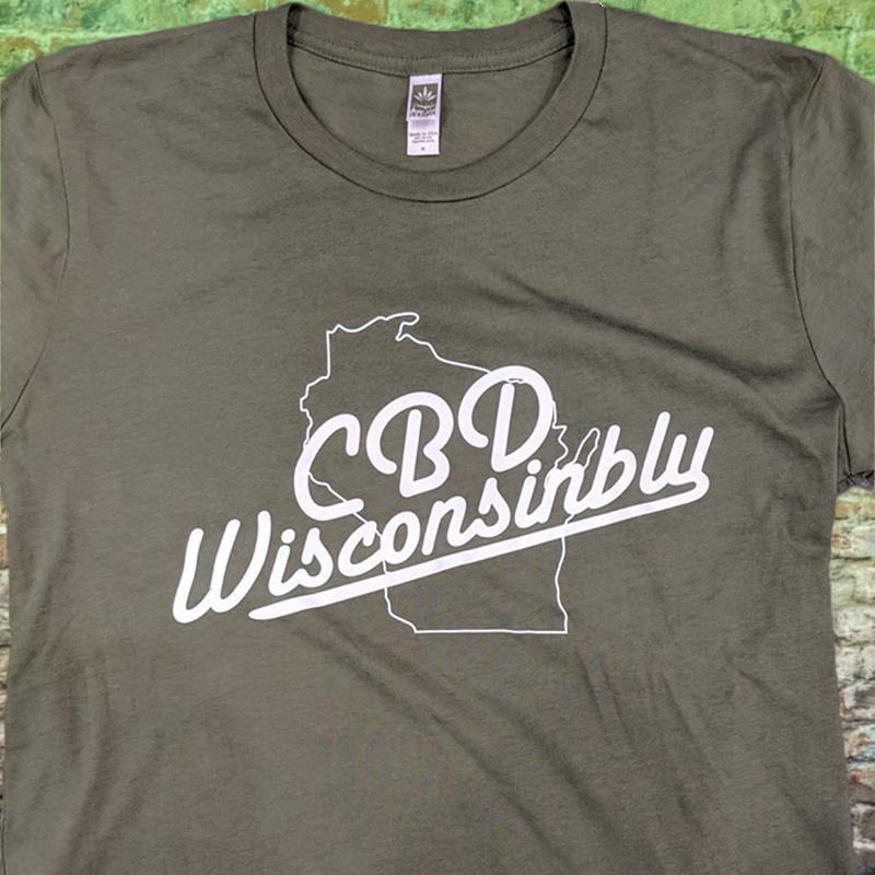 CannaBizDepot-CBD Wisconsinbly-T-Shirt