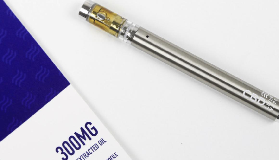 CBD vaping with pen