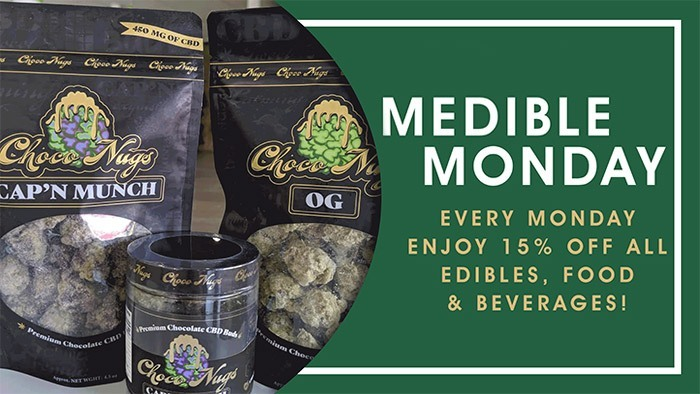 CannaBiz Depot - Medible Monday - 15% off ALL edibles, food, and beverages.