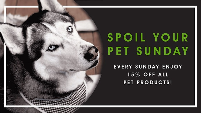 CannaBiz Depot - Pet Sunday - 15% off ALL pet products.