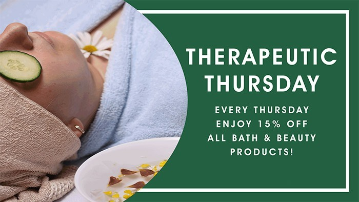 CannaBiz Depot - Therapeutic Thursday - 15% Discount on ALL bath & beauty products.