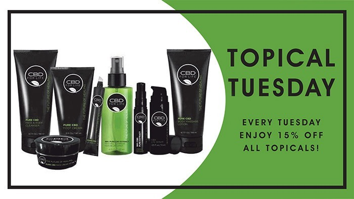 CannaBiz Depot - Topical Tuesday - 15% off ALL topicals.