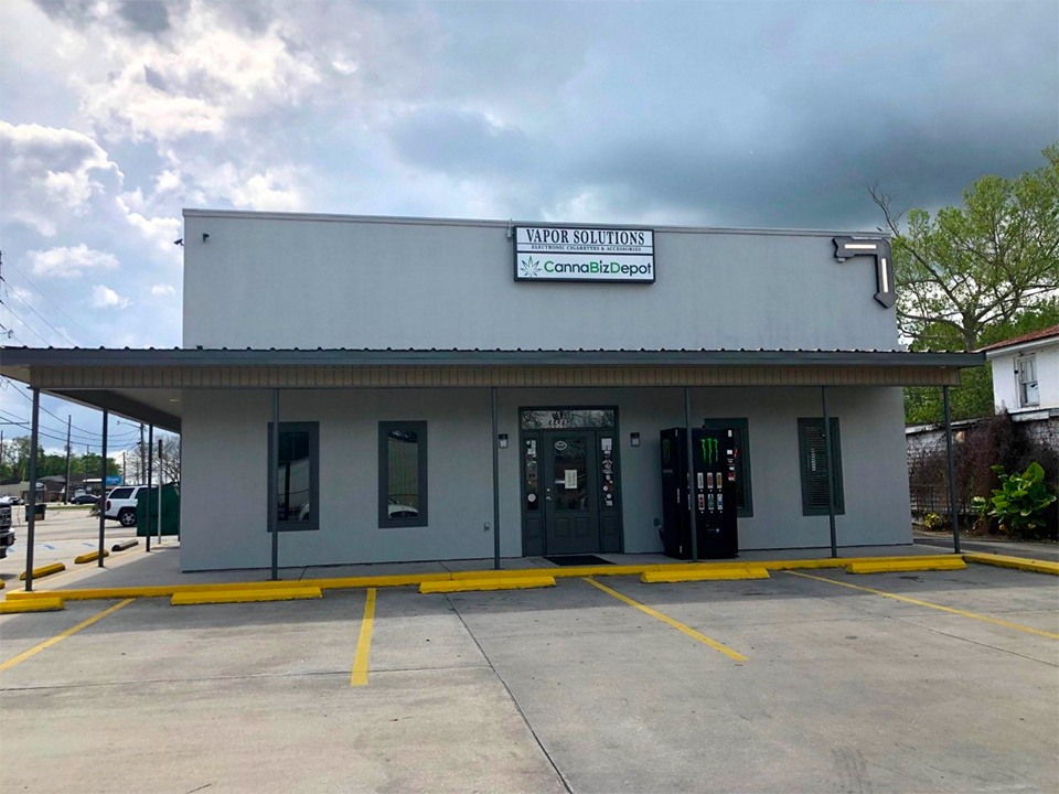 Storefront at CannaBiz Depot - Houma, Louisiana