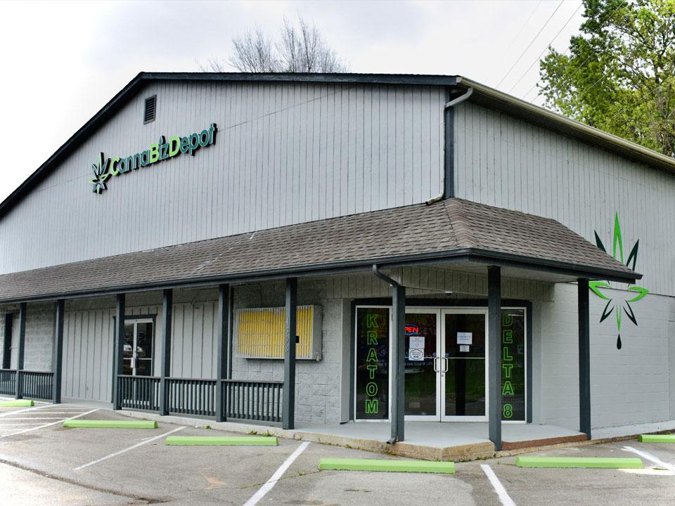 Storefront at CannaBiz Depot - Osage Beach, Missouri